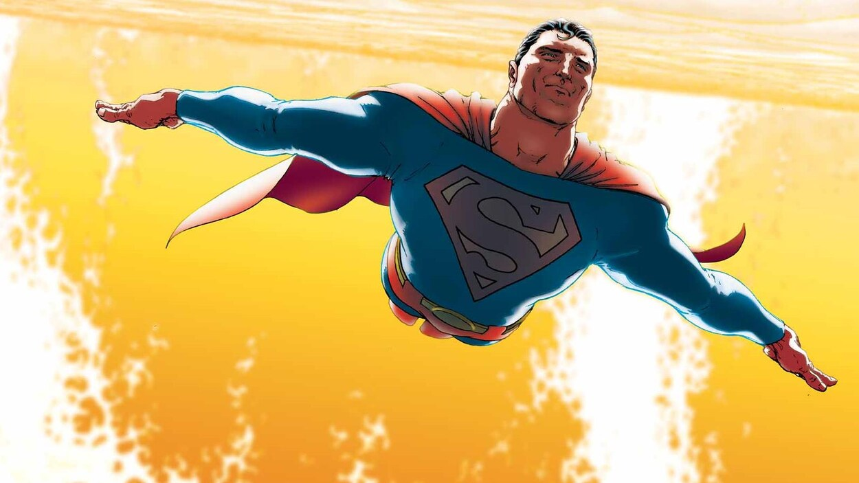 La bande dessinée Superman
