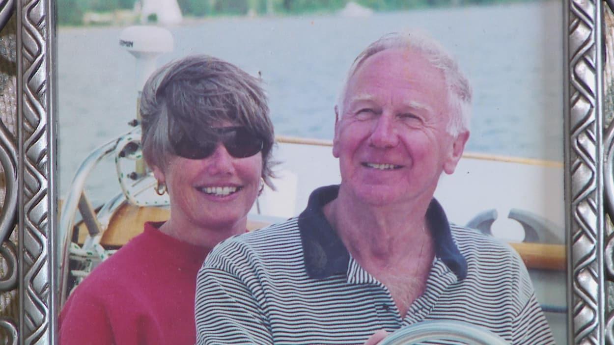 Sylvia Henshaw et son mari Douglas
