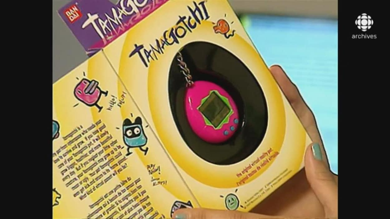 Tamagotchi dans son emballage