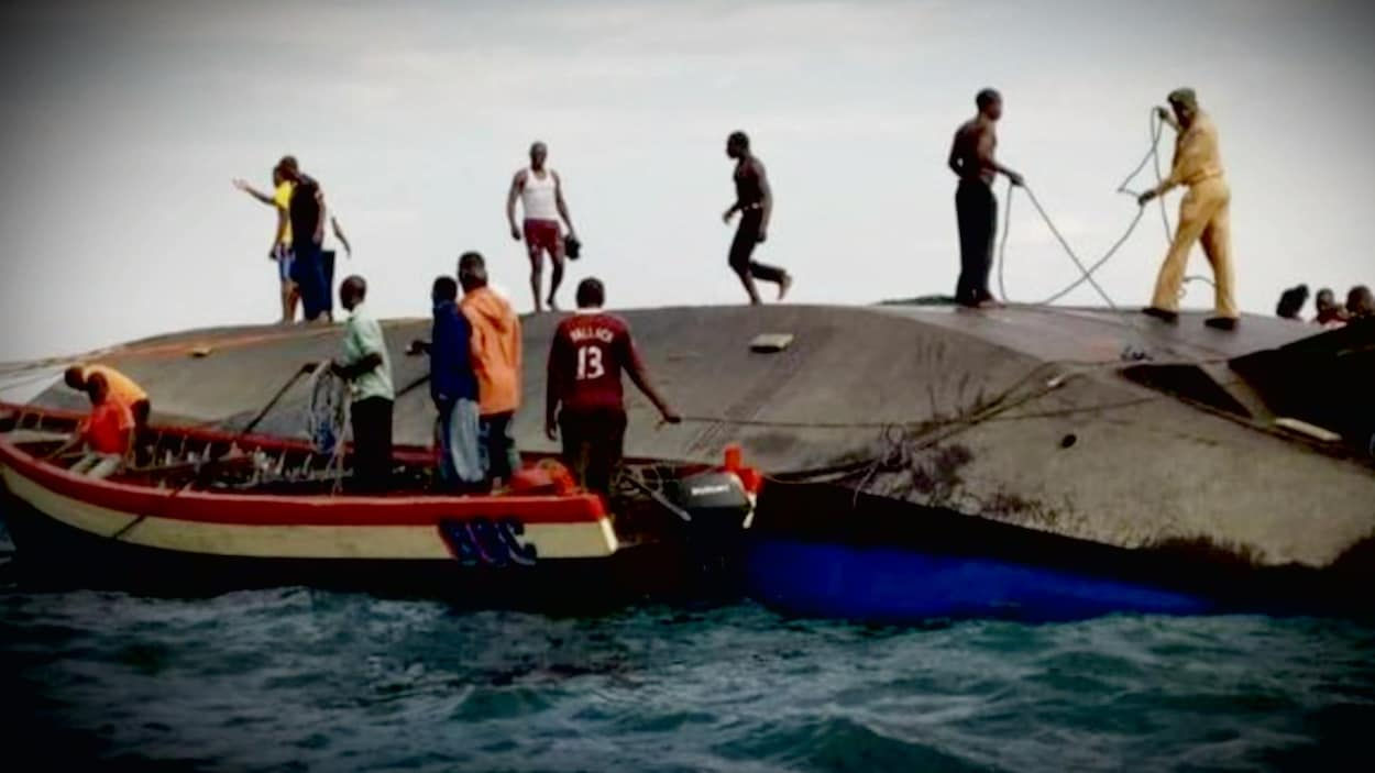 Un naufrage fait 131 morts en Tanzanie