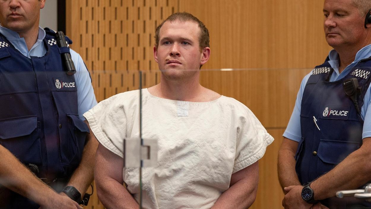 Une lettre haineuse du tueur de Christchurch