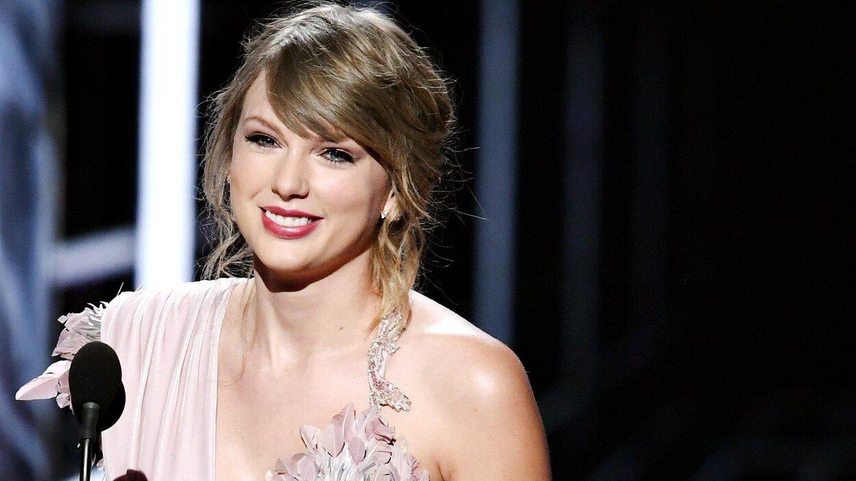 Taylor Swift durant la remise des prix Billboard, le 20 mai 2018