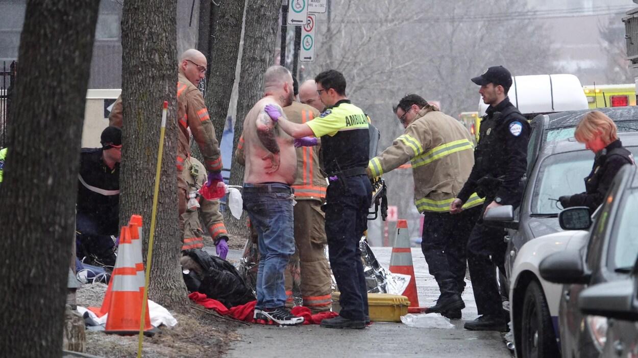 Double tentative de meurtre à Montréal: la police recherche un suspect