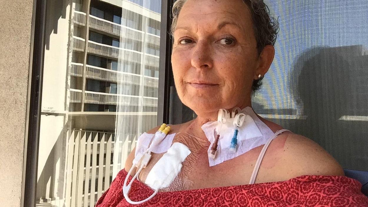 Terri est hospitalisée