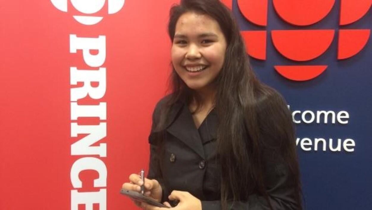 Tessa Erickson créé une application pour revitaliser une langue autochtone
