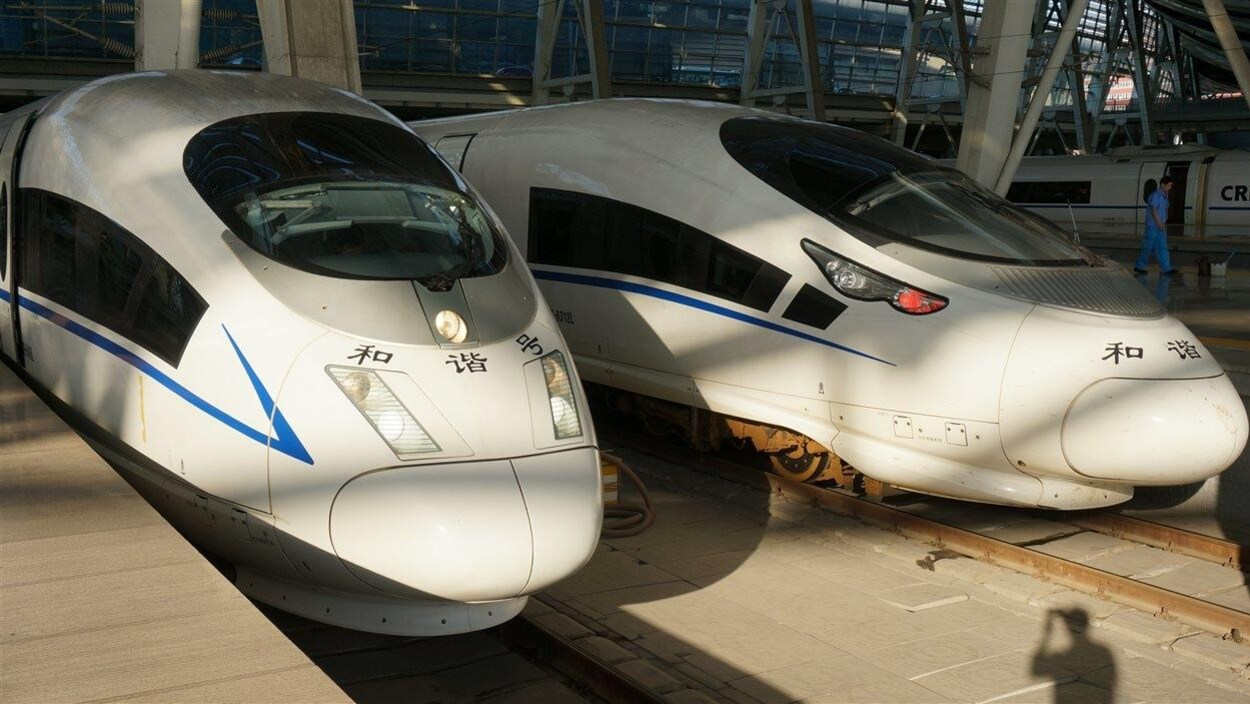 TGV en Chine