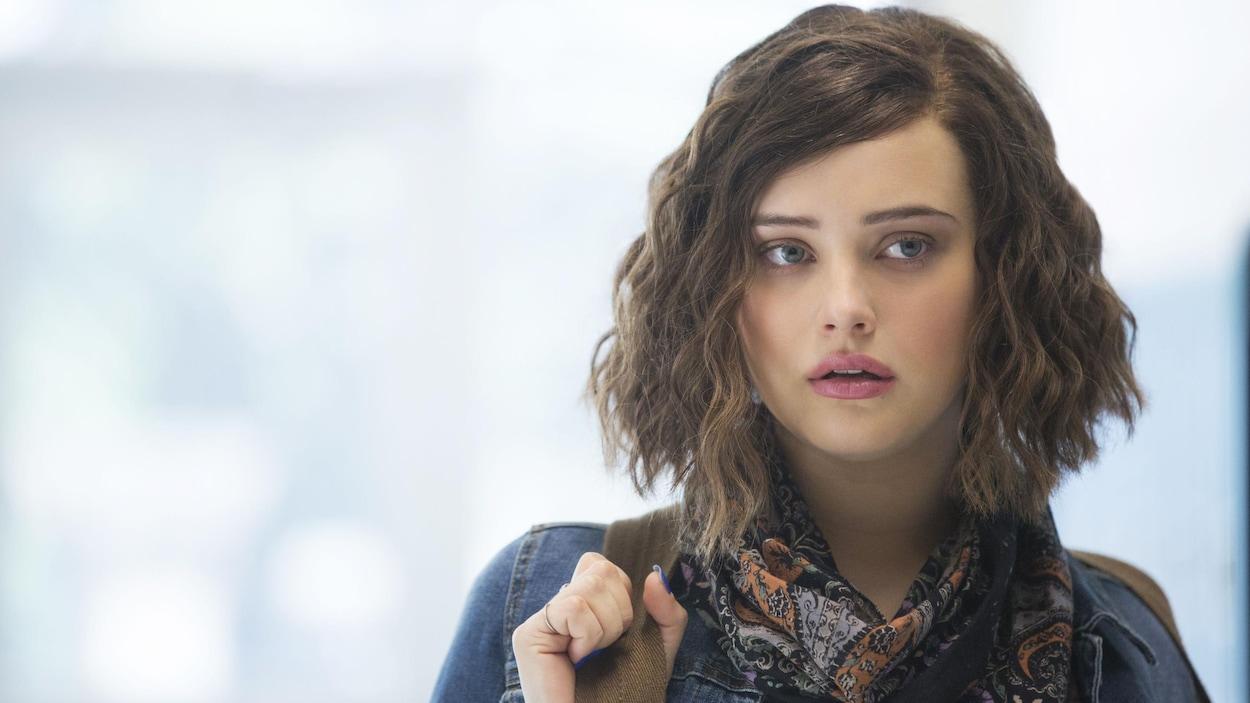Hannah (Katherine Langford) dans « Thirteen Reasons Why».