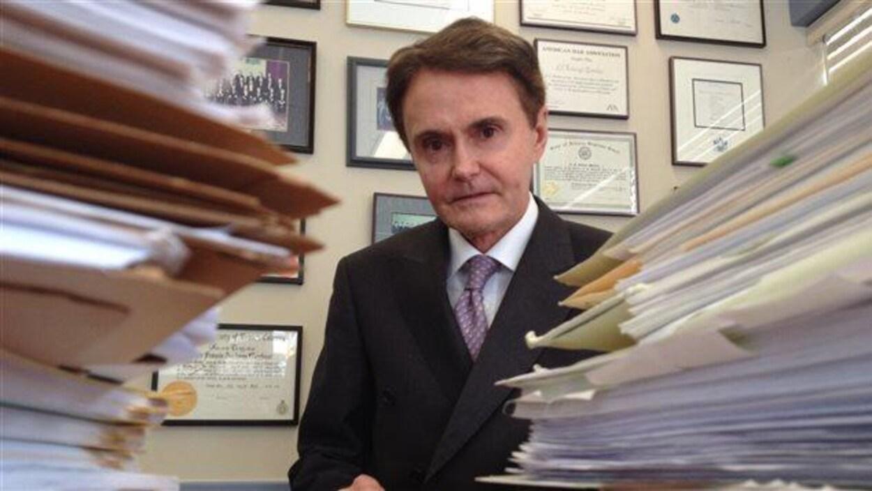 L'avocat Tony Merchant, fondateur de la firme Merchant Law Group.