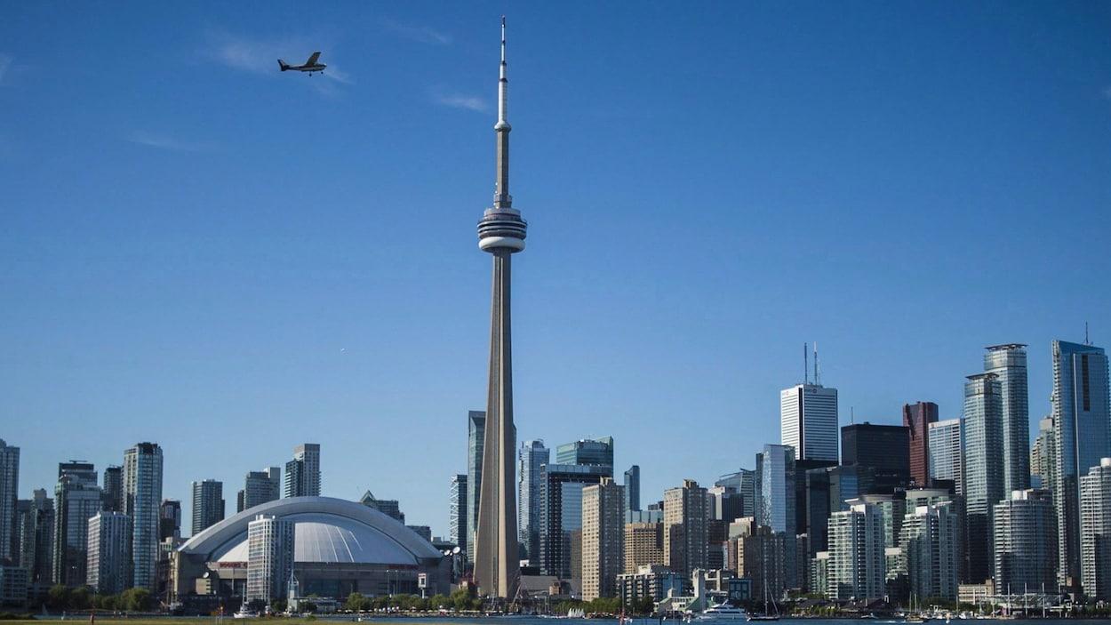 Le centre-ville de Toronto.
