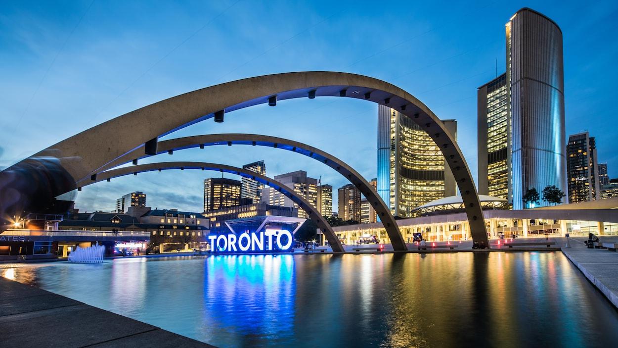 La mairie de Toronto.
