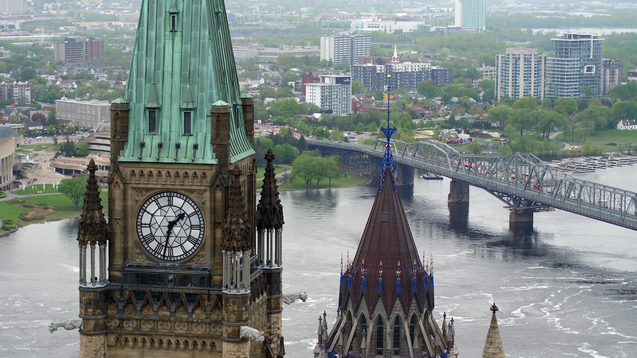 La tour de la Paix à Ottawa.