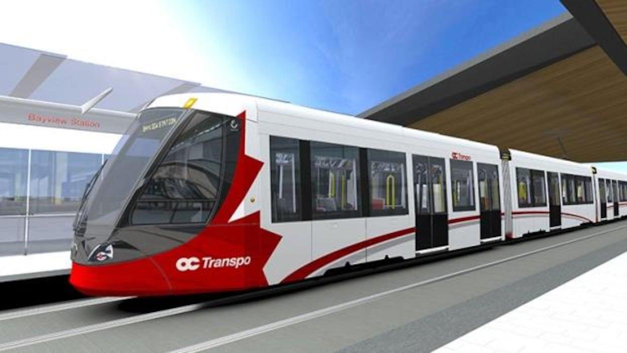 Le maire Jim Watson  affirme que les résidents d'Ottawa devront attendre l'an prochain  pour connaître la date d'entrée en service du train léger.