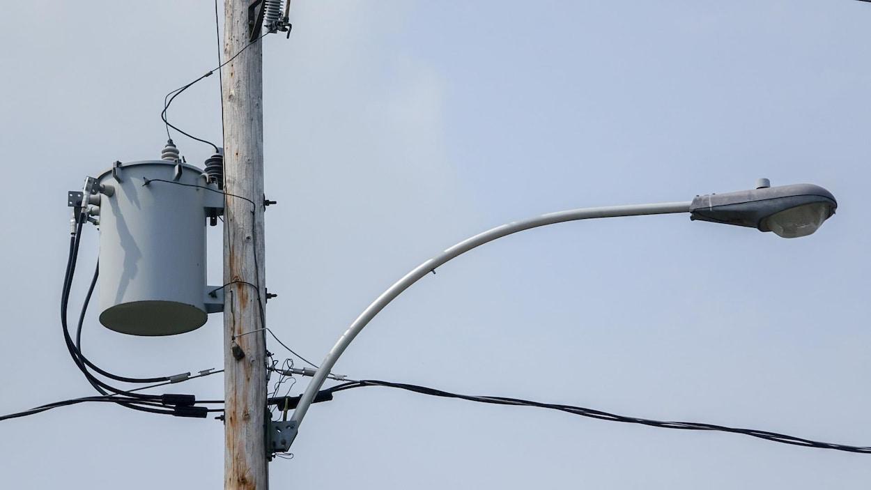 Un transformateur d'Hydro-Québec