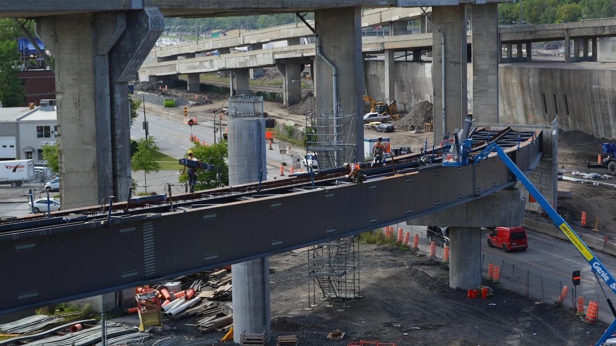 Un chantier de construction.