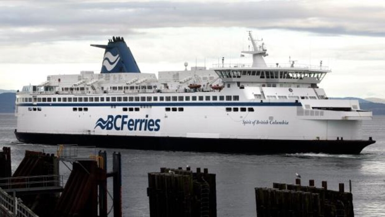 Un traversier de BC Ferries