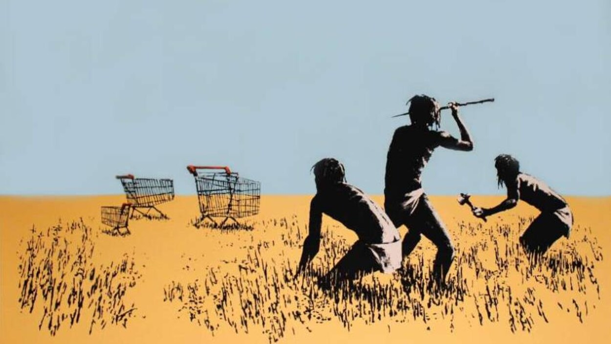 Dans « Trolley Hunters », des chasseurs traquent des paniers d'épicerie.