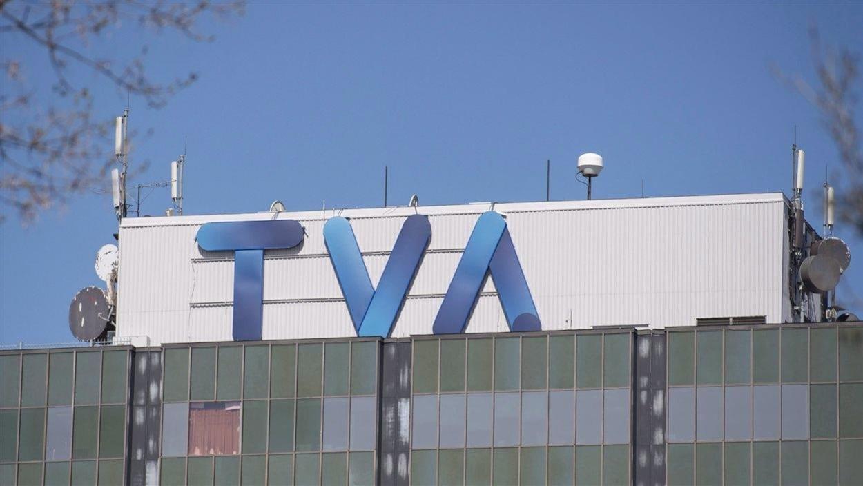 Le siège social de Groupe TVA, à Montréal.