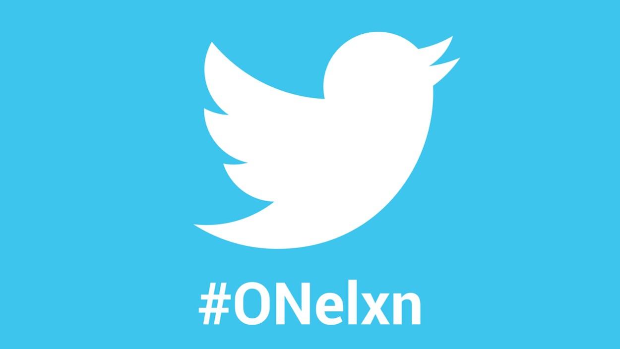 Logo de Twitter avec le #ONelxn