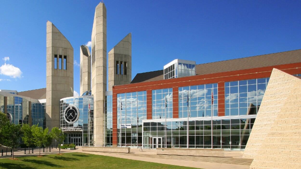 Une photo de l'Université MacEwan à Edmonton