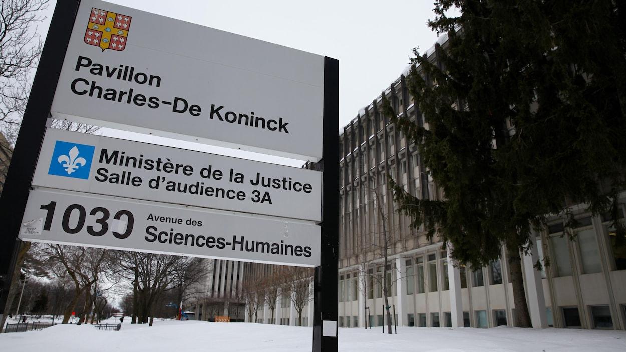 Le pavillon Charles-de Koninck, à l'Université Laval.
