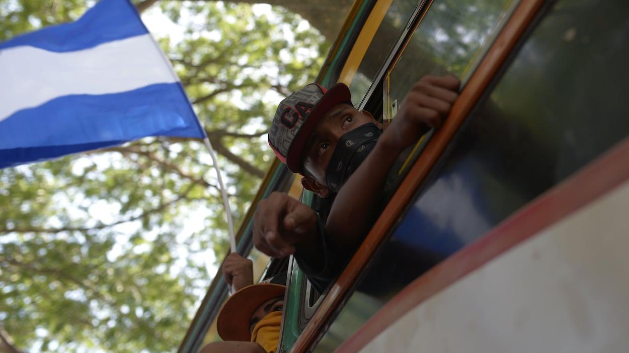 Quatre policiers et un manifestant tués — Nicaragua