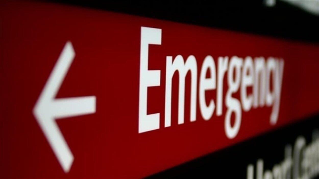 Enseigne d'une salle d'urgence