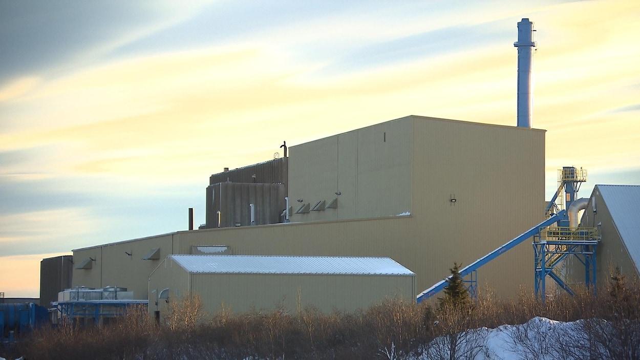 L'usine de bio-carburant de Port-Cartier