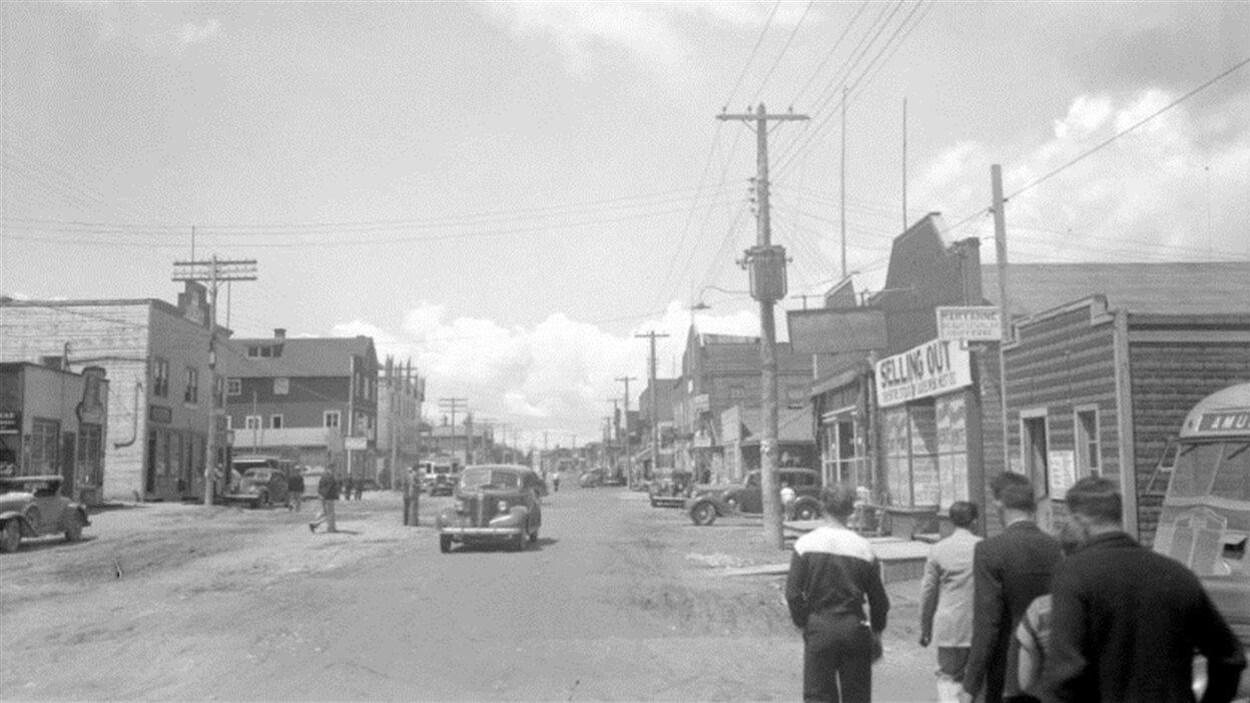 3e Rue à Val-d'Or en 1937.