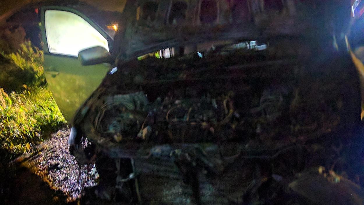Véhicule du président du Centre culturel islamique de Québec incendié