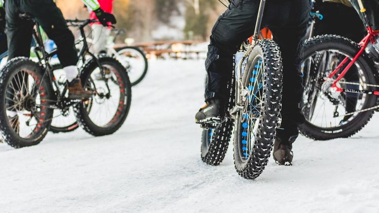 Des vélos à pneus surdimensionnés