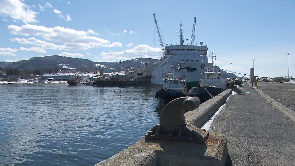 Le Chantier maritime Verreault des Méchins