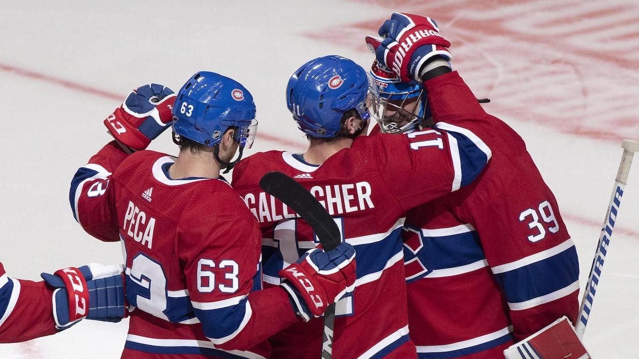 Les Canadiens ont défait les Capitals de Washington 5-2 lors d'un match préparatoire jeudi soir au Centre Vidéotron de Québec