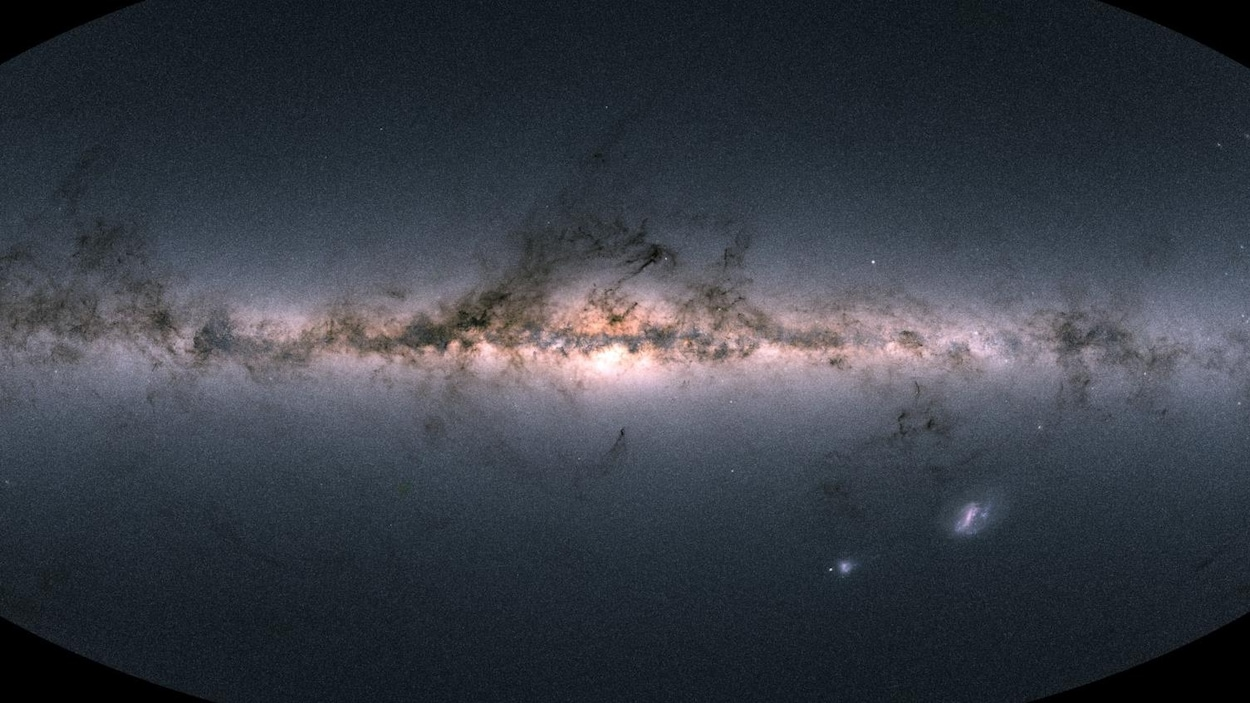 Image de la Voie lactée.