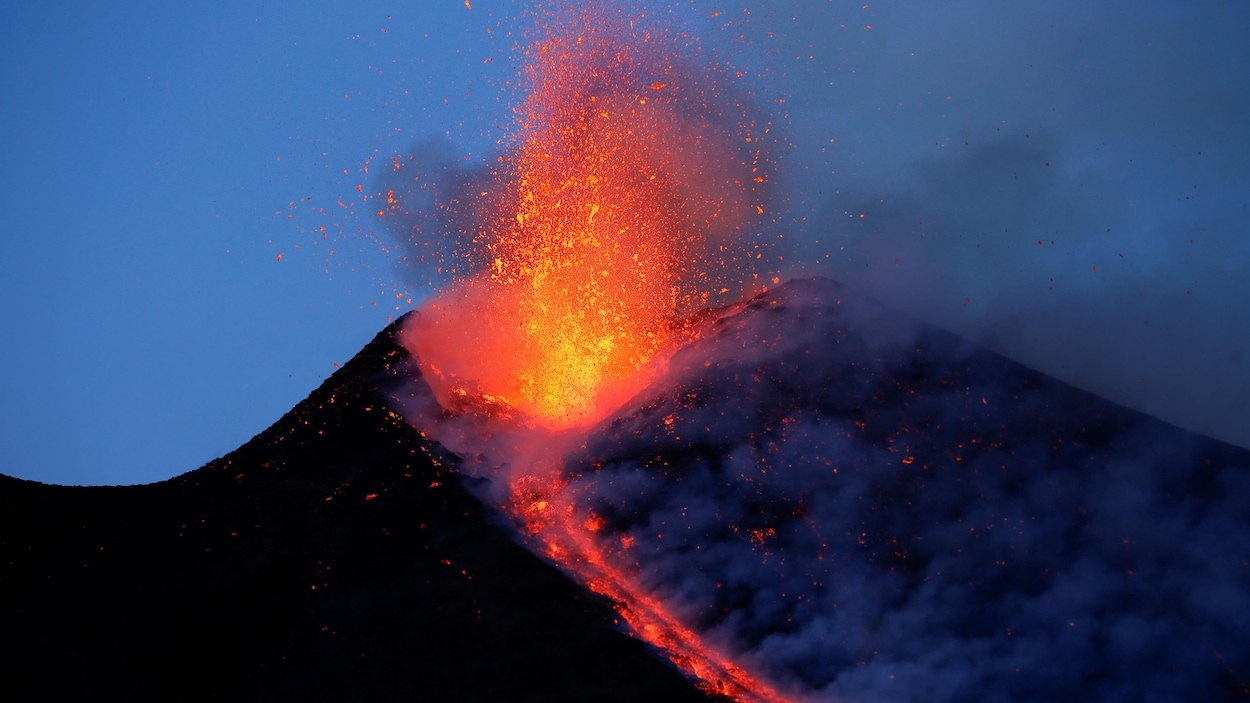 L'éruption du volcan Etna