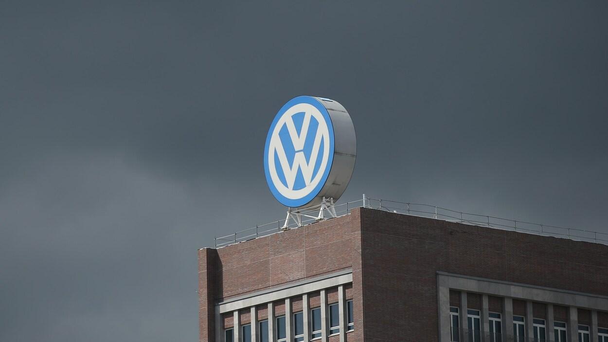 Une usine de Volkswagen.