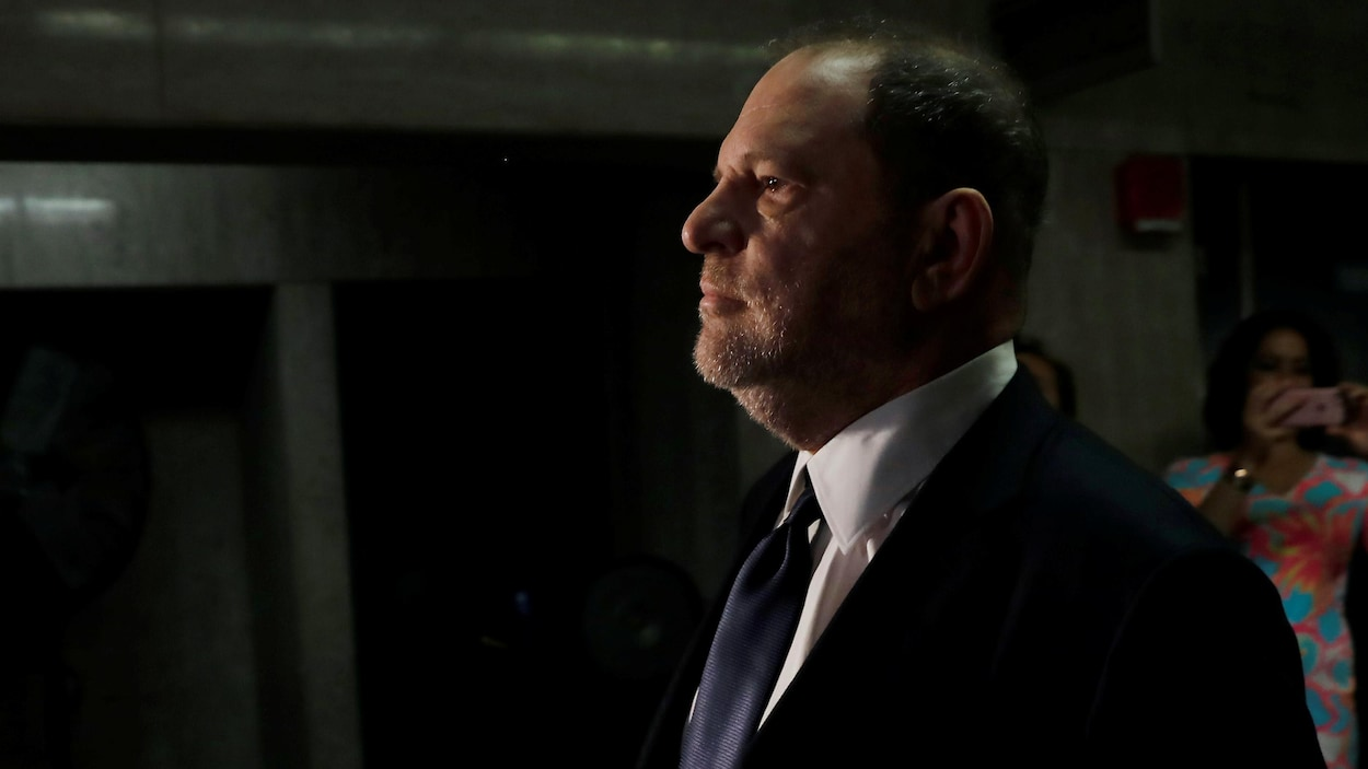 USA-L'ex-producteur Harvey Weinstein plaide non coupable