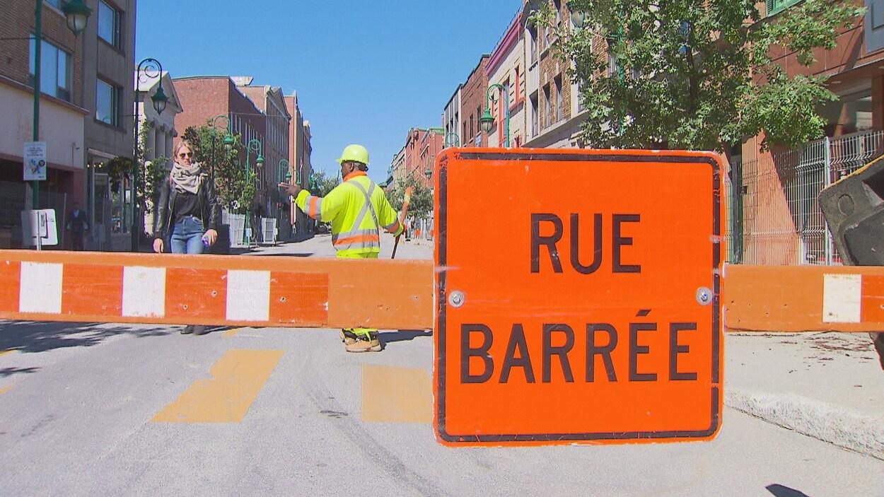 La rue Wellington Nord sera fermée entre les rues Albert et Frontenac pendant quatre semaines.
