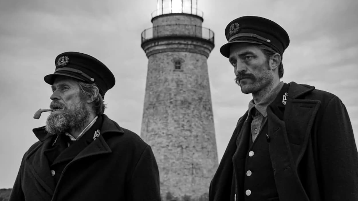 Une scène du film The Lighthouse.