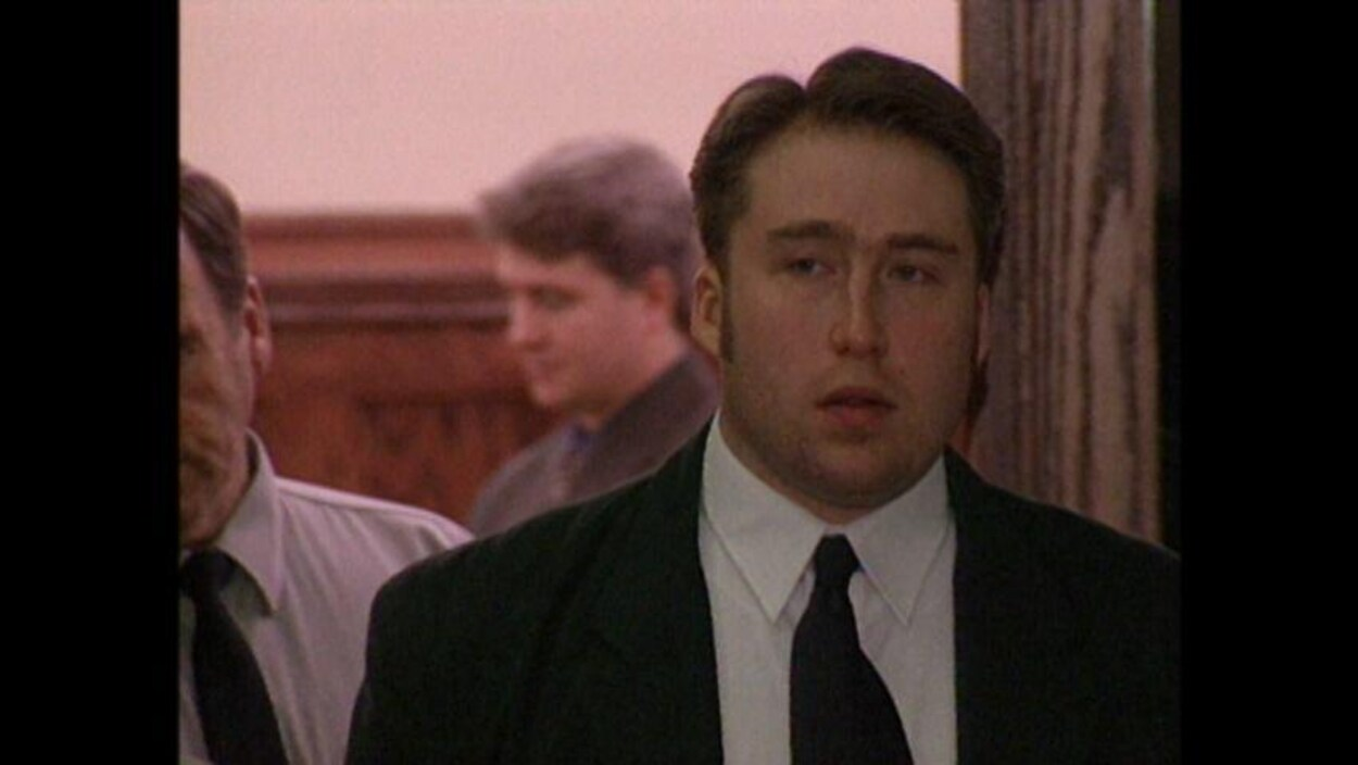 William Shrubsall lors d'une comparution en cour à Halifax.
