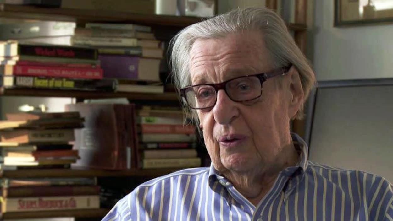 Le cinéaste, journaliste et romancier montréalais William Weintraub