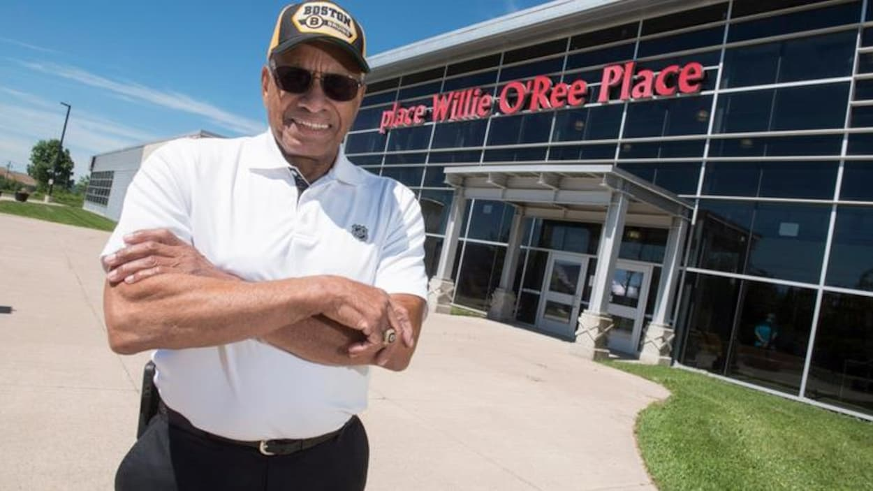 L'ancien joueur de hockey Willie O'Ree
