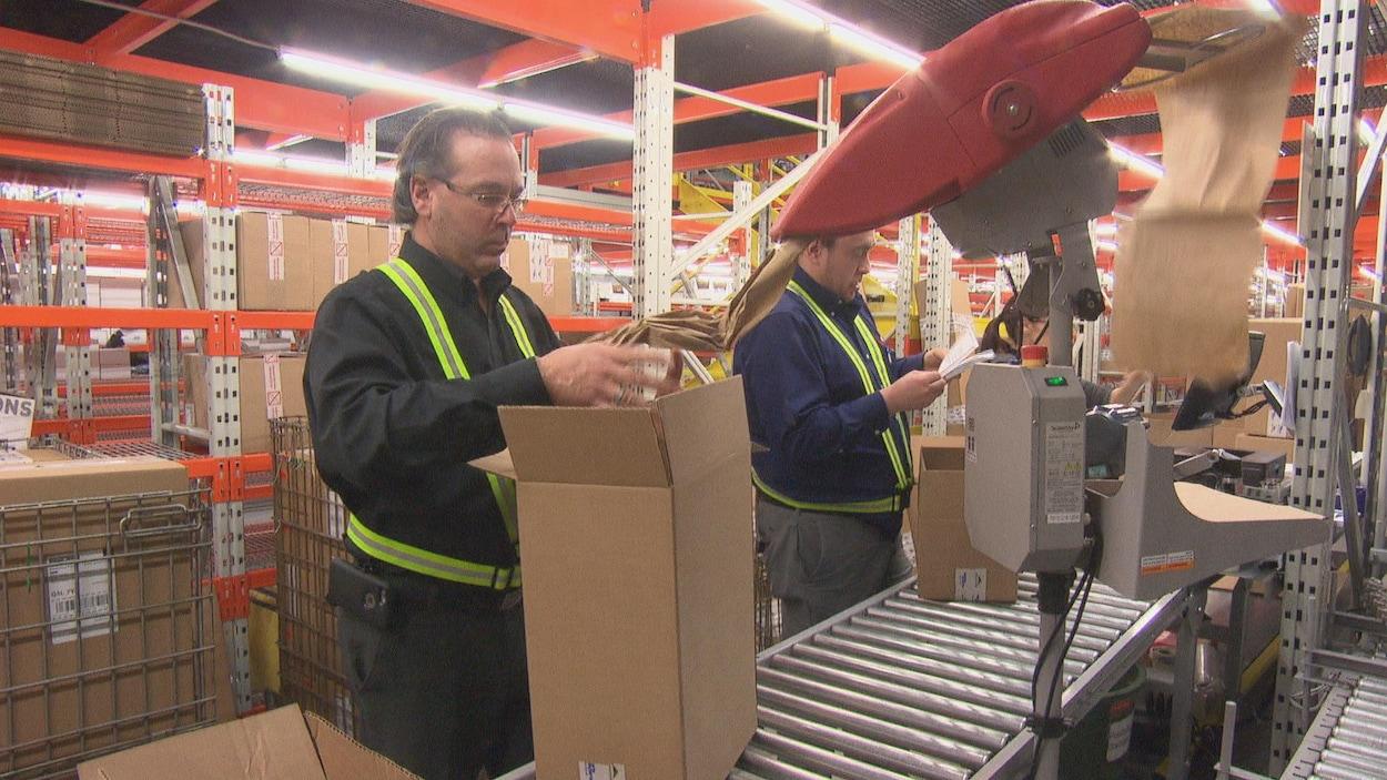Journée occupée, le 27 décembre, pour les employés de Wiptec de Sherbrooke
