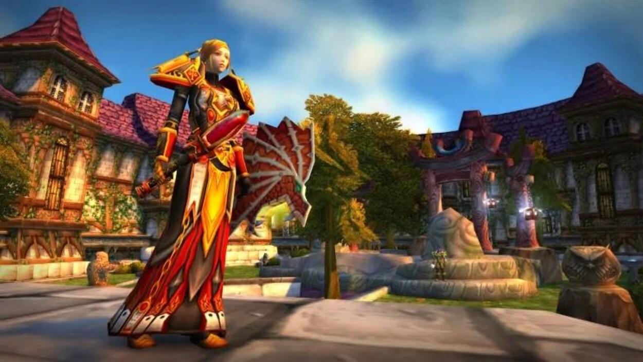 Capture d'écran du jeu World of Warcraft: Classic Edition