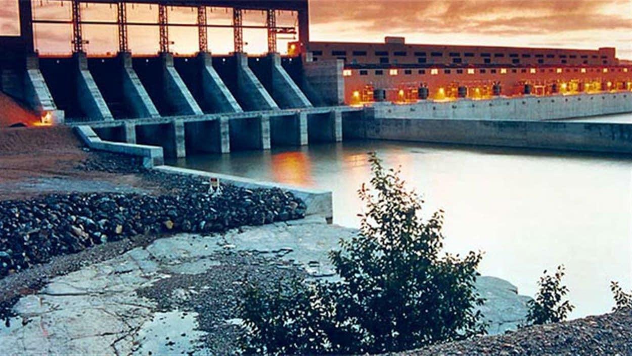 La centrale hydroélectrique Wuskwatim, dans le Nord du Manitoba.