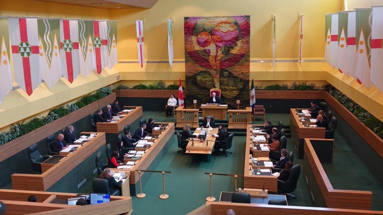 chambre de l'assemblée législative du Yukon