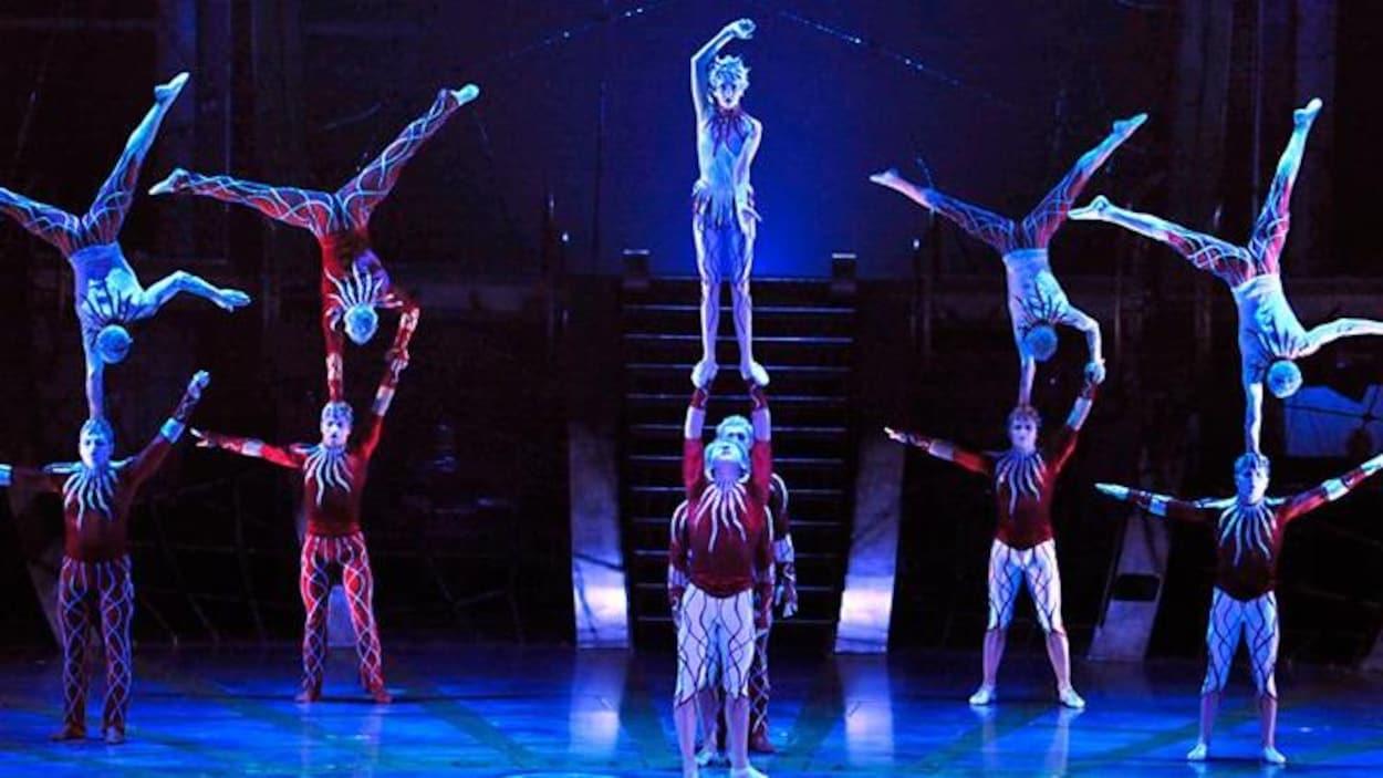Faillite monstre du Cirque du Soleil