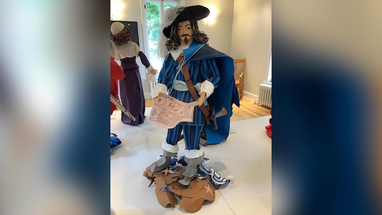 Samuel de Champlain par Claude Lafortune