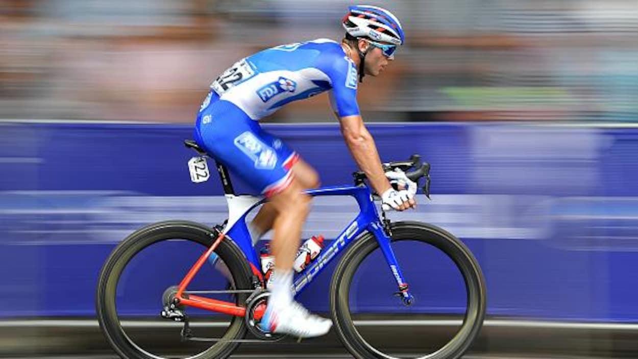 Antoine Duchesne en pleine action