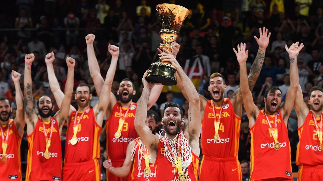Coupe du monde de basket: l'Espagne file en finale