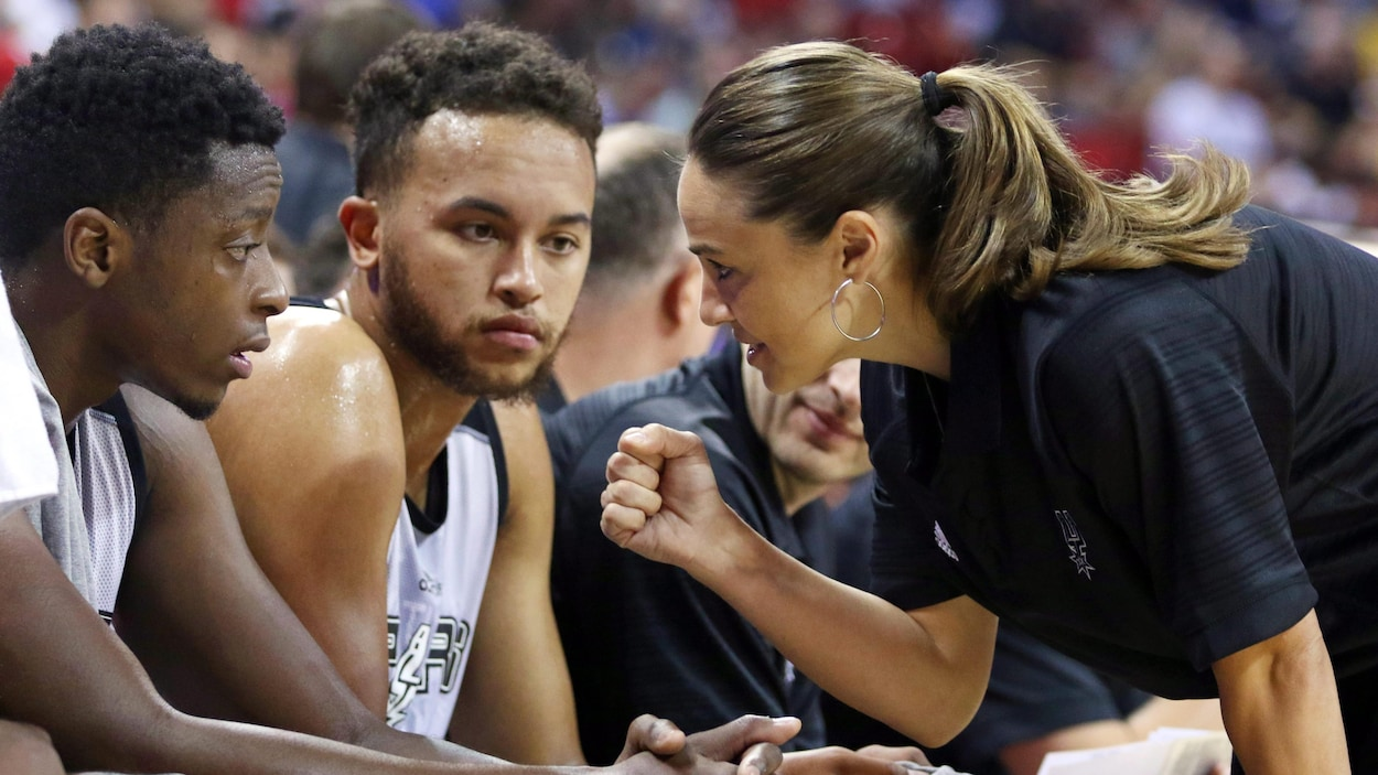 Becky Hammon à la tête de Milwaukee — NBA
